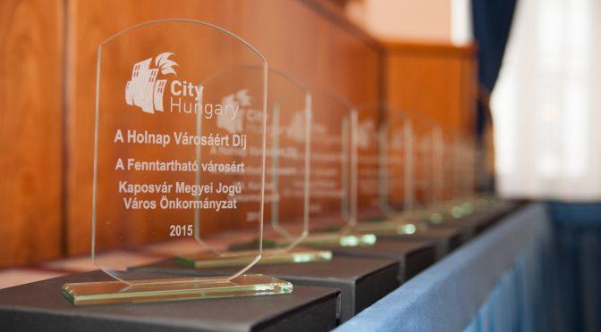 Átadták a Holnap városáért 2015 díjakat