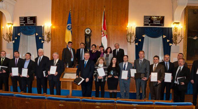Holnap városáért Díj 2015 díjazottjai és a bíráló tagok
