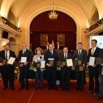 A Holnap városáért Díj 2016 nyertes pályázatainak képviselői