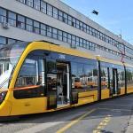 Új CAF villamosok Budapesten