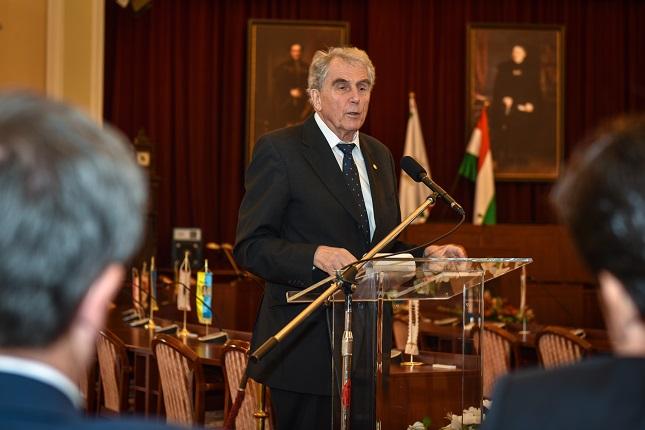 dr. Réthelyi Miklós, a City Hungary fővédnöke