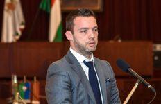 dr. Szeneczey Balázs főpolgármester-helyettes (Fővárosi Önkormányzat)) a Holnap városáért Díjátadón