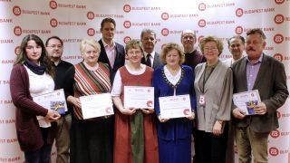 A Budapest Bank Békéscsabáért Program díjazottjai