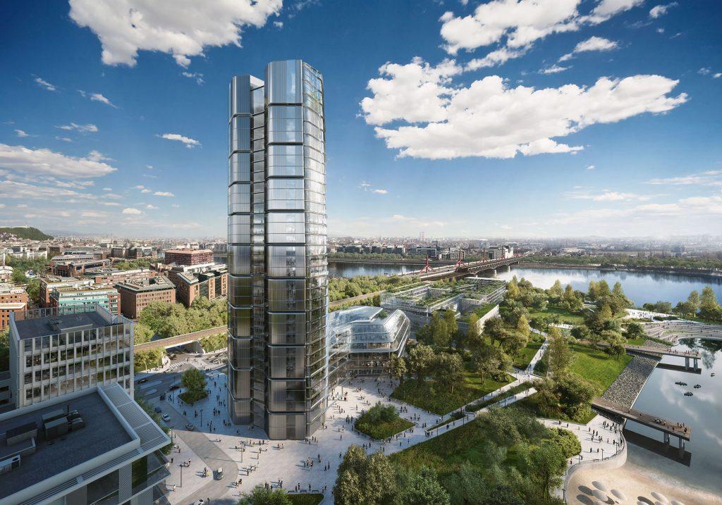 MOL felhőkarcoló, új MOL székház