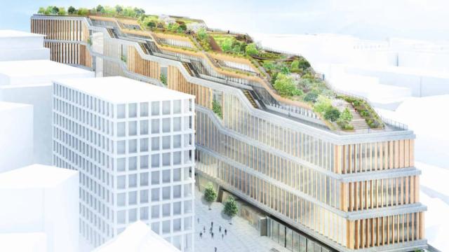 Új Google központ Londonban