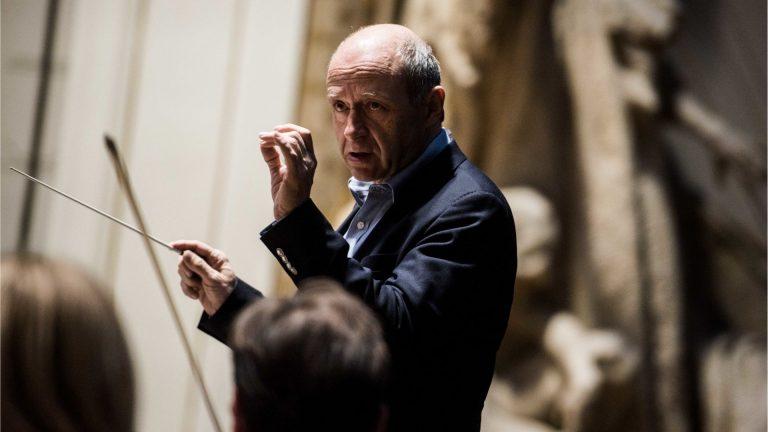 Fischer Iván a Budapesti Fesztiválzenekar vezetője