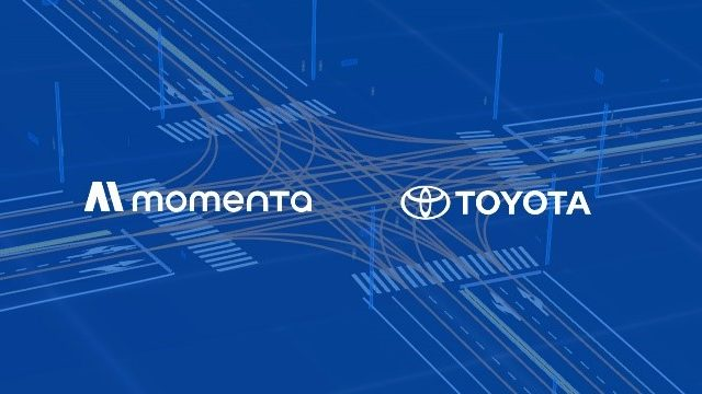önvezető autók automatikus térképalkotással (Toyota és Momenta)