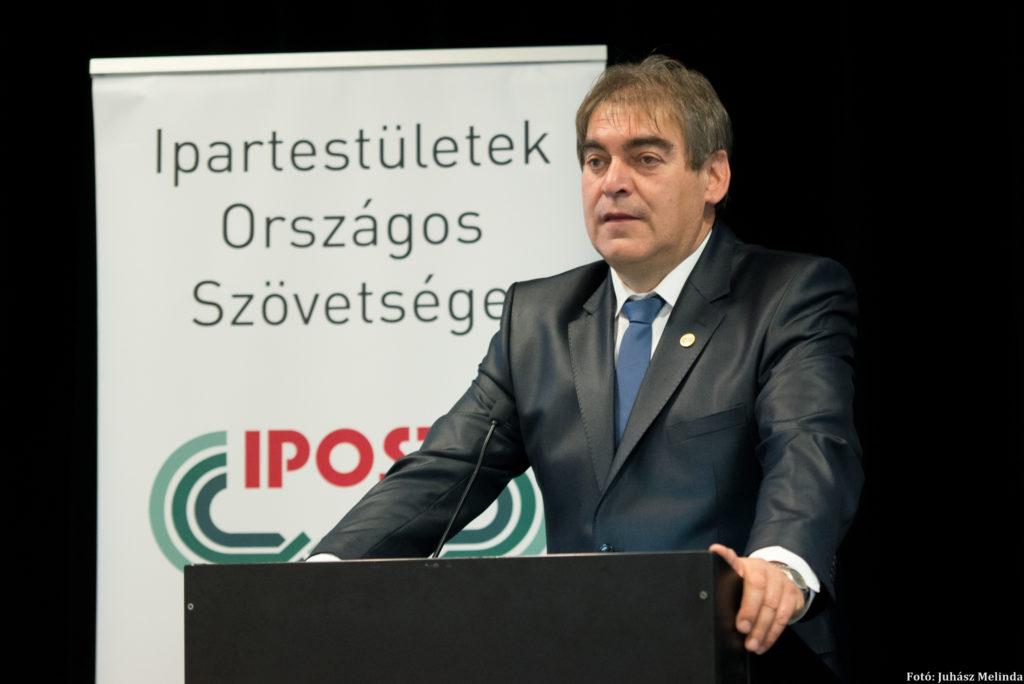 Németh László, az IPOSZ elnöke