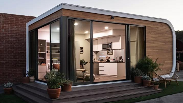 Környezetbarát, 3D-és épület